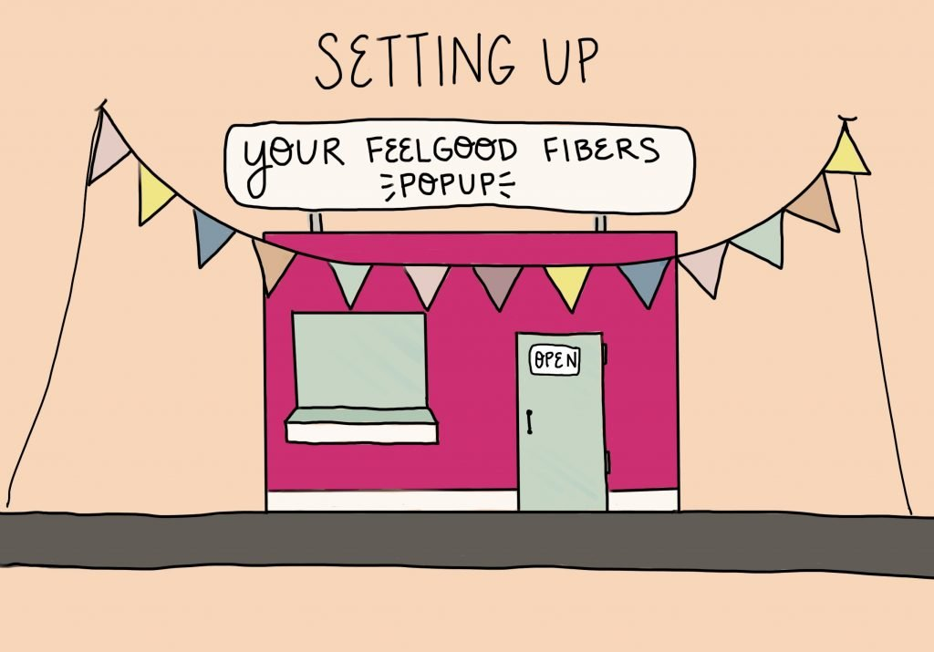 Setting Up Your FeelGood Fibers PopUp