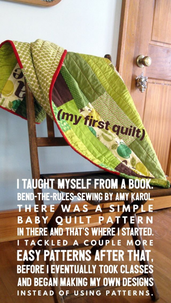 Laura Hartrich Tells a Friend How to Try Out Quilting Without Breaking the Bank on FeelGood Fibers