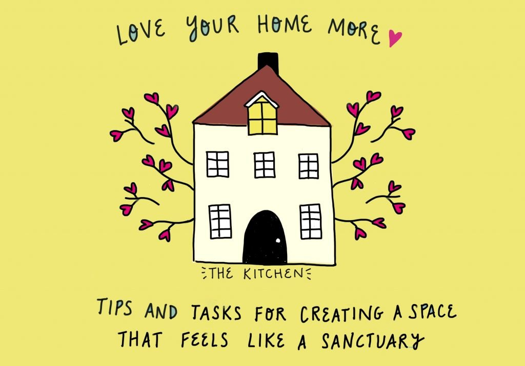 Love your home more: tips and tasks for creating a space that feels like a sanctuary week 3 the Kitchen by feelgood fibers