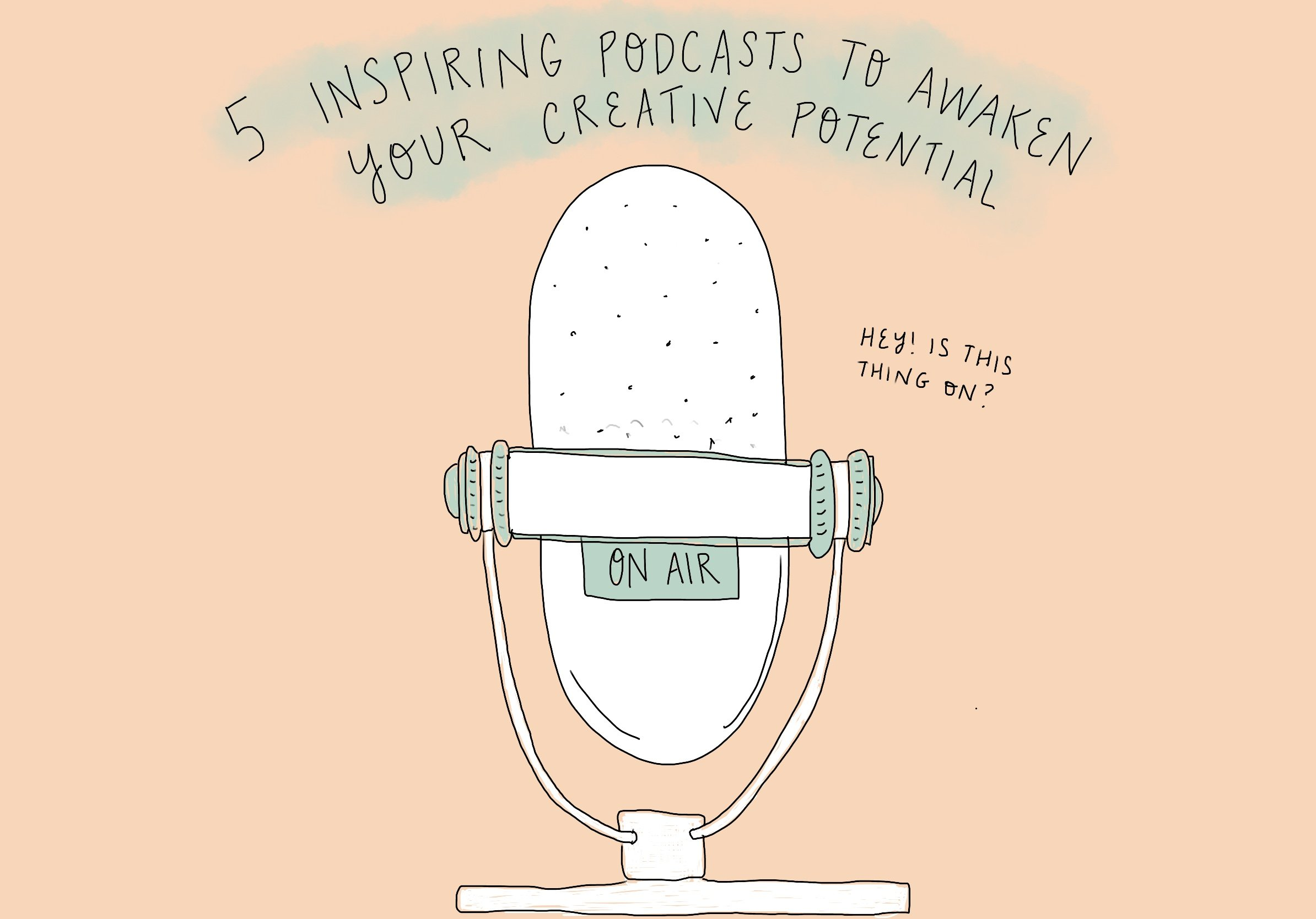 5 inspiring podcasts to awaken your creative potential on feelgood fibers