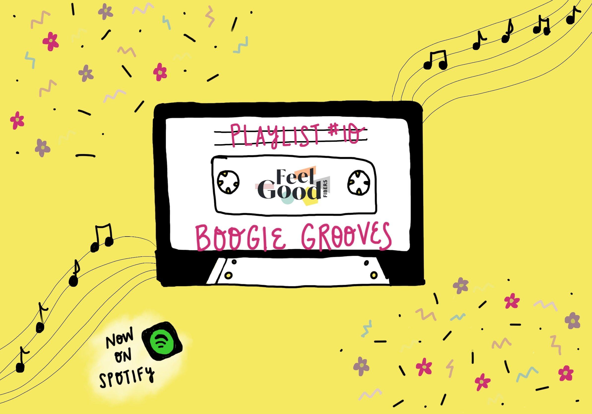 FGF Playlist 10 Boogie Grooves on FeelGood Fibers