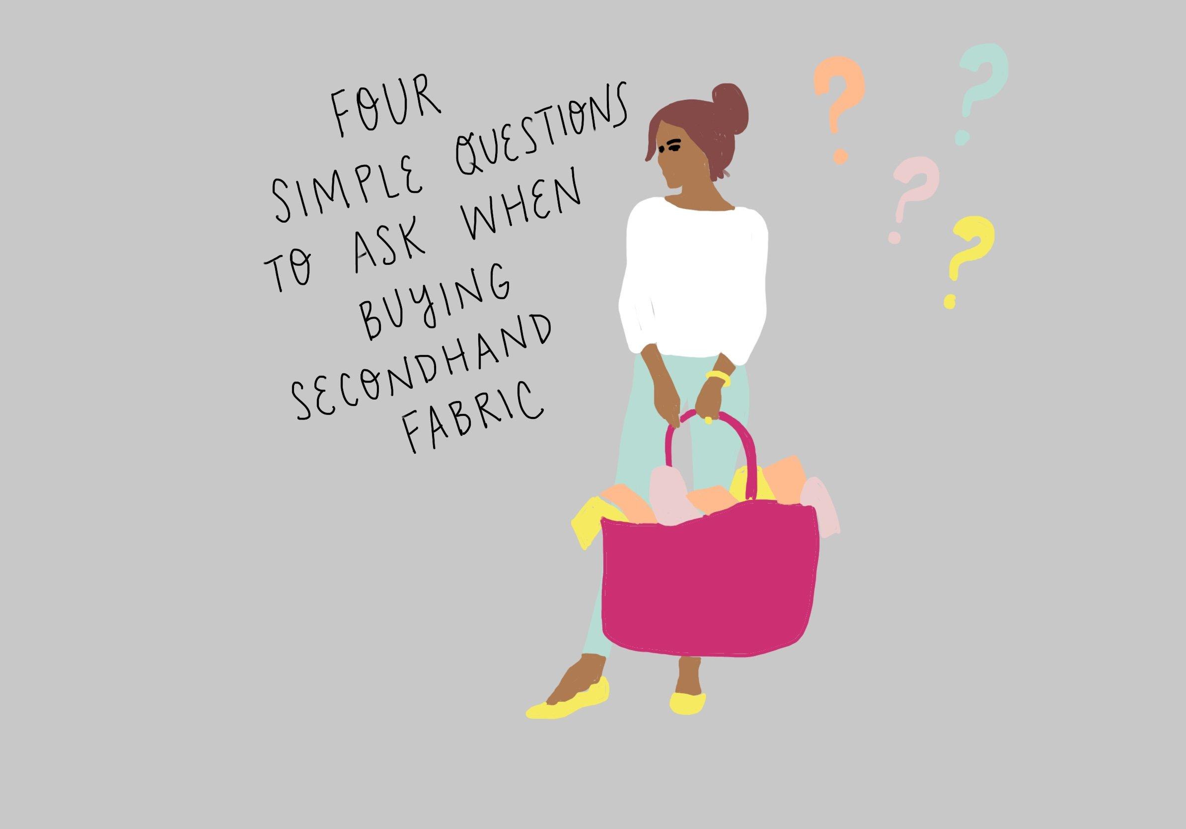Four Simple Questions to Ask When Buying Secondhand Fabric on FeelGood Fibers