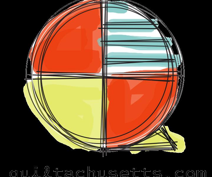 Quiltachusetts logo plain sticker 2020 copy